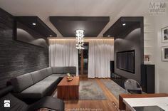 Zdjęcie: Salon - Salon - M+M wnętrza
