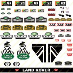 """Stickers """"Vignettes pare brise vintage""""-www. Car Stickers, Car Decals, Land Rover Discovery 1, Vignettes, Jada Toys, Land Rovers, Mad Max, Vintage, Apparel Design"""