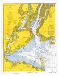 cloois: Historical Nautical Charts Collection: New York Harbor Mariners Weather Log (gluestick)