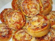 Rozi Erdélyi konyhája: Pizzás csiga