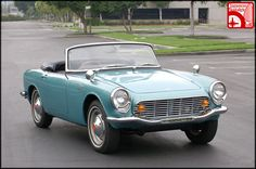 The Only roadsters and coupes were built. The special, upgraded package called the included, among other. Classic Sports Cars, Classic Cars, Vintage Cars, Antique Cars, Honda Cars, Honda Auto, Counting Cars, 1960s Cars, Car Racer