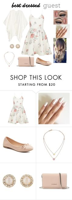 """""""Untitled #10"""" by babyhatter ❤ liked on Polyvore featuring New Look, SO, Michael Kors, Kate Spade, Givenchy, bestdressedguest and barnwedding"""