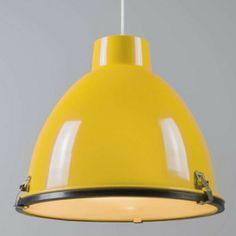 Lámpara colgante ANTEROS 38 amarillo - Iluminación interior - lamparayluz.es