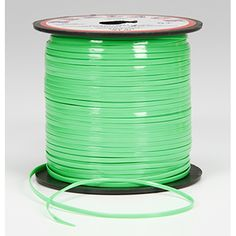 Rexlace Plastic Lace - Neon Green - 100 yards