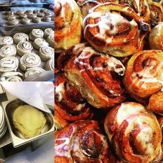 Norwegian Cinnamon Buns - Norsk Kanelboller made by our chef. Norwegian Food, Buns, Norway, Cinnamon, Fresh, Dishes, Eat, Breakfast, Amazing