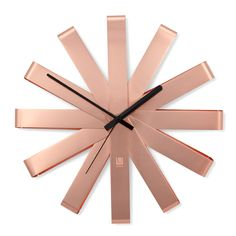 Umbra Copper Ribbon Duvar Saati - Altıncı Cadde