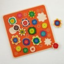 Piece and Love Flower Puzzle in Nod Exclusives   The Land of Nod