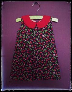 Mini dress with peter pan collar