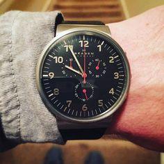 New Skagen 😍 I fucking love wristwatches.