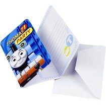 Thomas And Friends Invitations Envelopes 6ct Train Party Supplies Kids Online