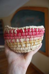 Simple basket weaving tutorial - http://craftideas.bitchinrants.com/simple-basket-weaving-tutorial/