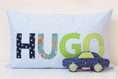 Namenskissen / Name Pillow by ellis & higgs, via Flickr