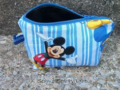 #MickeyMouse 5x7 #bag #seamssewwright