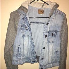 Aeo jacket! Sooooo comfy! American Eagle Outfitters Jackets & Coats Jean Jackets