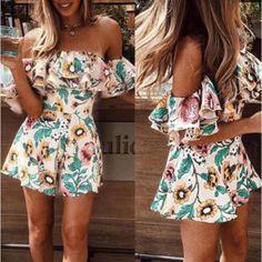 36e51684c Macaquinho floral ombro a ombro - Compre com Frete Grátis na Azza
