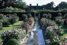 The Renaissance Garden is perhaps the most beautiful of all the gardens, and is devoted to English Roses. Description from davidaustinroses.com. I searched for this on bing.com/images