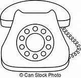Telephone Clipart Rotary Phone Alat Komunikasi Komunikasi Seni