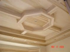 Coffered ceiling options