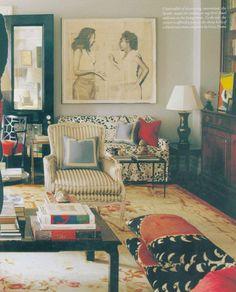 Kate Spade Living Room