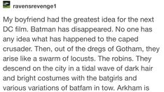 Yay found the first part. - Batman Funny - Funny Batman Meme - - Yay found the first part. The post Yay found the first part. appeared first on Gag Dad. Batman Meme, Superhero Memes, Im Batman, Batman Robin, Dc Memes, Batman Family, Detective Comics, Young Justice, Nightwing