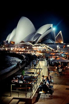 Cafe with a View, Sydney Opera House