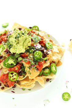 The Best  Vegan Nachos    http://papasteves.com