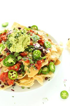 The Best Damn Vegan Nachos - new post by the Minimalist Baker…can't wait to try it!  #recipes #vegan