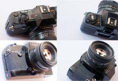 4 sides of Contax Quartz Zeiss, Binoculars, Nikon, Quartz, Bags, Purses, Taschen, Hand Bags, Quartz Crystal