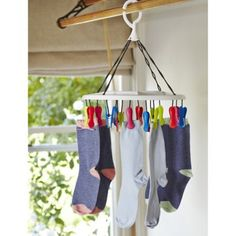 Smalls & Socks Hanging Dryer Airer With 16 Pegs