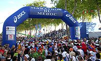 Marathon du Medoc, France - Where the marathon is a celebration. Over 90% of runners are dressed up to run the event. Numbers limited to 8,500 participants