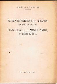 Acerca de António de Holanda | VITALIVROS / Alfarrabista