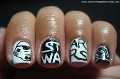 star wars nail art Awesome
