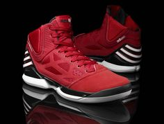 pretty nice 958b1 42d8c If you plan on watching the Bulls vs. Knicks game tonight, you will see  Derrick Rose wearing this new adidas adiZero Rose. Isaiah Rivas · Shoes