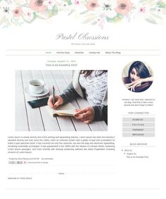 Angie\'s Dreamy Reads - Custom Blogger Design Makeover by Priceless ...