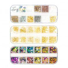 Marquage Nouveautés - Gouiran Beauté Particulier Nail Art Doré, 3d Art, Nouvel An, Decoration, Cube, False Lashes, Ongles, Finger Nail Art, Manicure