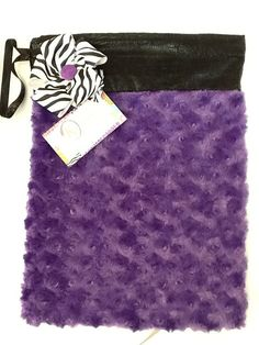Purple Cotton Candy Grip Bag by jnknox1 on Etsy, $22.00
