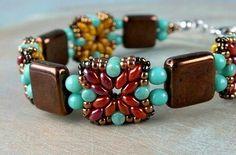 bc7aab112 Mini duo and rulla bracelet Návody Na Práci S Korálky, Návody Na Výrobu  Šperků,