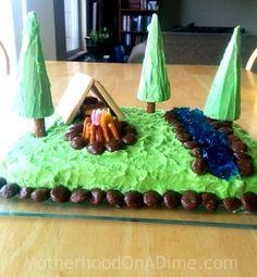 easy camping cake