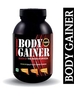 Pharma Science Mass & Weight Gainer,Muscle Gain,Energy,Muscle Growth, Ayurvedic Supplement Powder -(Pack Of Muscle Gain Supplements, Bodybuilding Supplements, Protein Supplements, Natural Supplements, Muscle Mass, Gain Muscle, Best Weight Gainer, Ways To Gain Weight, Mass Gainer