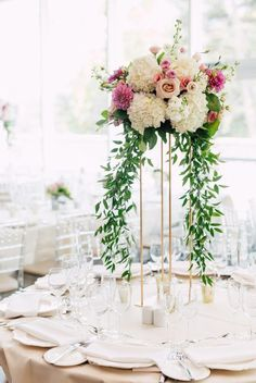 50 Insanely Over-the-top Quinceanera Centerpieces – Wedding Centerpieces Quinceanera Centerpieces, Tall Wedding Centerpieces, Flower Centerpieces, Reception Decorations, Table Decorations, Quinceanera Ideas, Centerpiece Ideas, Tall Centerpiece, Floral Centrepieces