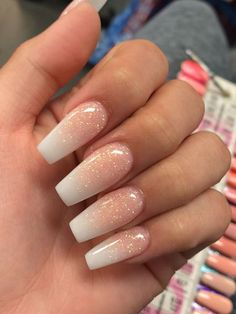 Need some wedding nails inspiration? Here you will find the best nail ideas for your wedding day from simple nail designs to glam. Cute Acrylic Nail Designs, Simple Acrylic Nails, Acrylic Nails Coffin Short, Summer Acrylic Nails, Colorful Nail Designs, Best Acrylic Nails, Coffin Ombre Nails, Cute Simple Nail Designs, Summer Nails
