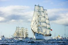 The MIR and Cuautemoc. Funchal 500 regatta, Falmouth 2008 - PIC CODE CU003