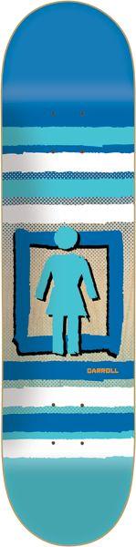 GIRL CARROLL OUT OF THE BOX DECK-8.25 pop secret