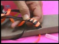 Proyecto: Sandalias decoradas con Cintas / Programa del 13/05/2013