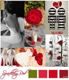 Wedding Moodboard | Sparkling Red