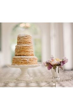 Your wedding planning journey starts here. Inspiration, advice, and all of your wedding etiquette questions answered right this way. Pancake Cake, Pancakes, Wedding Etiquette, Honeymoons, Taste Buds, Vanilla Cake, Yummy Treats, Wedding Stuff, Nom Nom