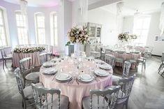 Dekoracje ślubne Szczecin Table Settings, White Dress, Dresses, Vestidos, Place Settings, Dress, Gown, Outfits, Tablescapes