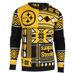 Pittsburgh Steelers 2015 Ugly Christmas Sweater – Ugly Christmas Sweater Party