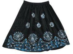 Womens Skirt, Black & Blue Sequin Gypsy Bohemian Skirts Embroidered Skirt Mogul Interior,http://www.amazon.com/dp/B00DXZ9RL2/ref=cm_sw_r_pi_dp_YrZ8rb0T8SRFPM3K