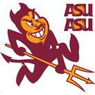 "Arizona State University Removable Logo - 24x24"". Still don't like the Sun Devils, but they are a state school..."